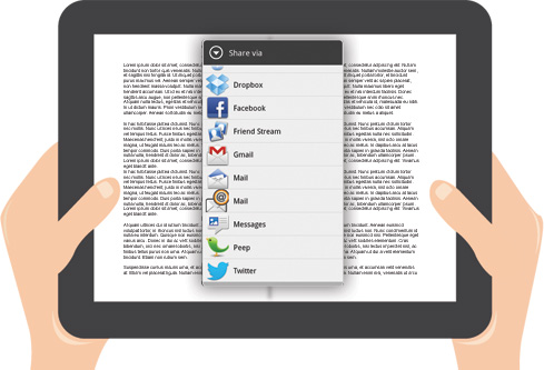 Book Widgets - Social Media Sharing