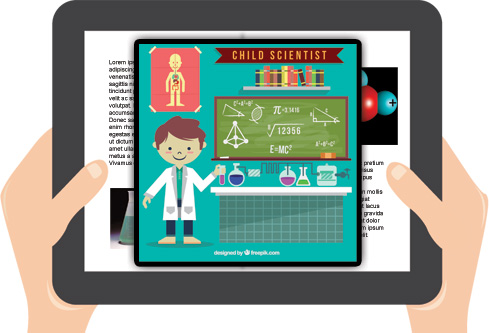 Book Widgets - Interactive science experiments