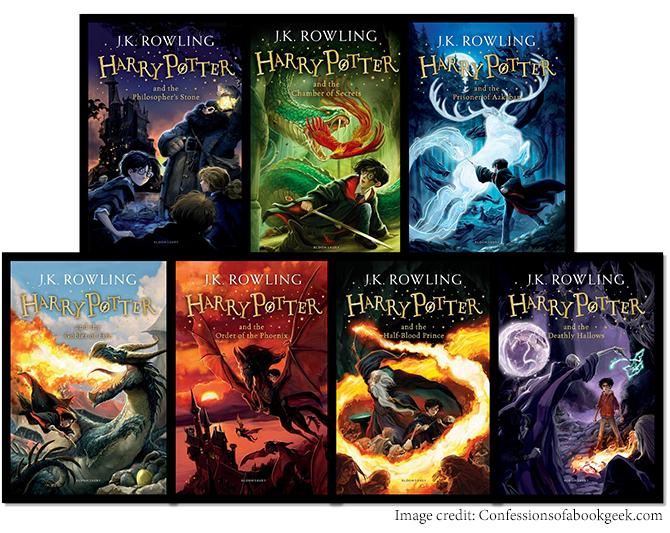 5 Essential Writing Styles for Children's Books - Harry Potter books