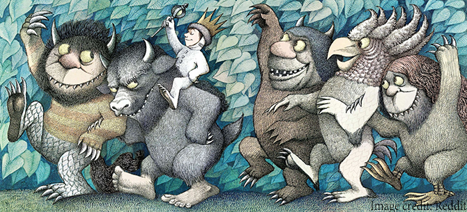 5 Essential Writing Styles for Children's Books - where the wild things are