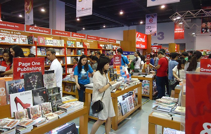 Book fairs are great for learning emerging trends