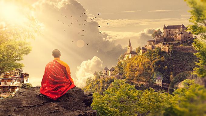 visualizing is key to meditation