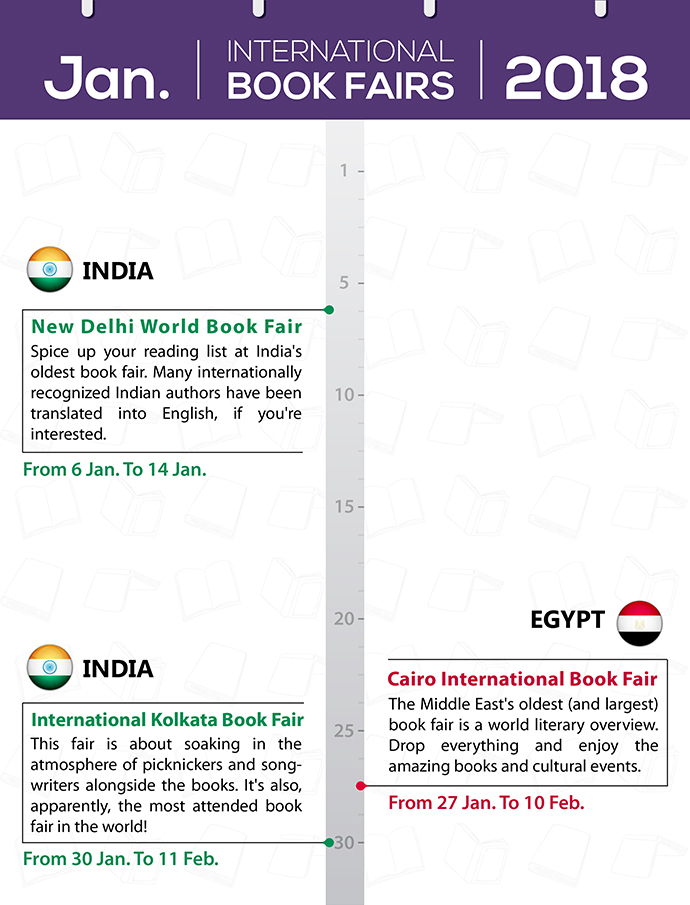 The Complete Calendar Of International Book Fairs In 2018