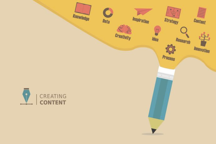 collecting and creating content
