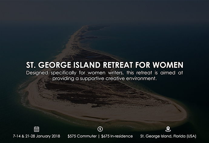 best retreats and workshops for fiction writers - St. George Island Retreat for Women persisgranger.com