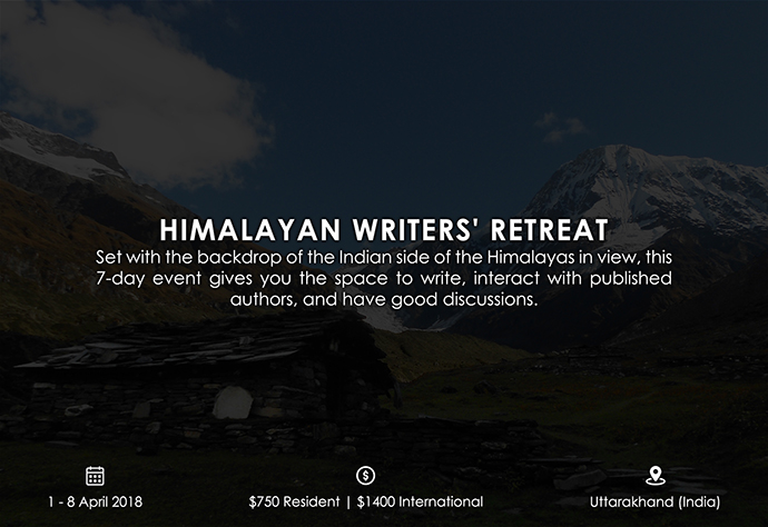 best retreats and workshops for fiction writers - Himalayan Writers' Retreat himalayanwritingretreat.com