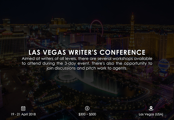 best retreats and workshops for fiction writers - Las Vegas Writer's Conference hendersonwritersgroup.com