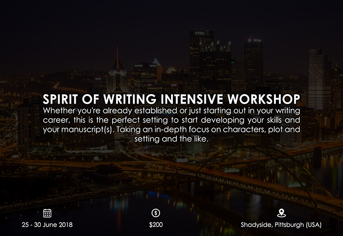 best retreats and workshops for fiction writers 2018 - Spirit of Writing Intensive Workshop elizabethrodenz.com
