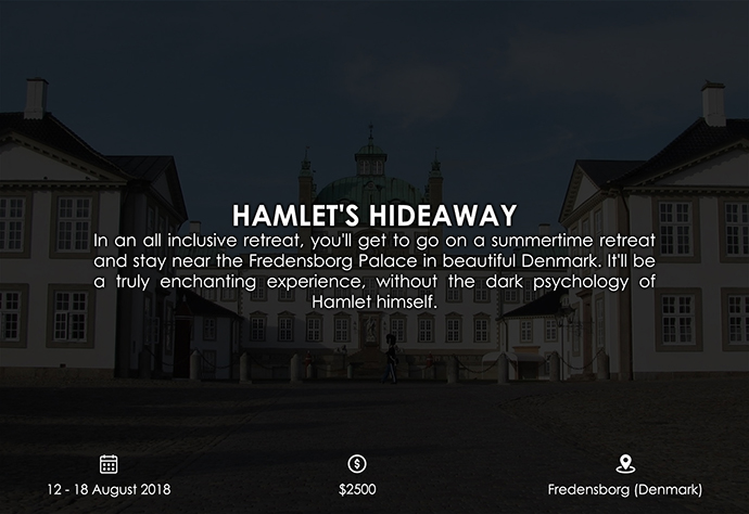 best retreats and workshops for fiction writers 2018 - Hamlet's Hideaway hamletshideaway.net