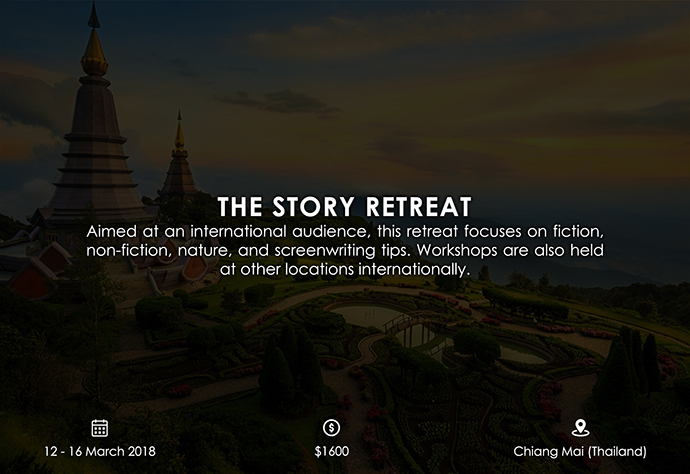 best retreats and workshops for fiction writers - The Story Retreat thestoryretreat.com