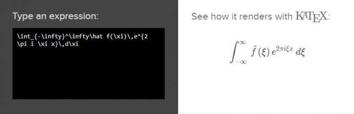 Use KaTeX to Write Mathematical Expressions : Kotobee
