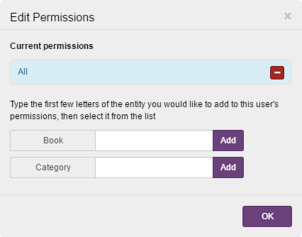 LTI permissions