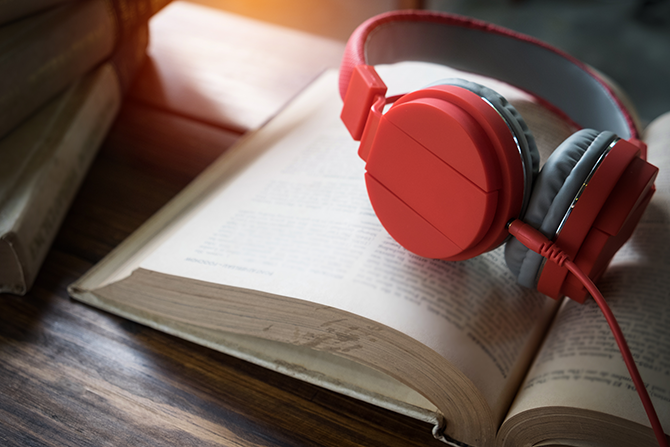 market an ebook with audiobooks