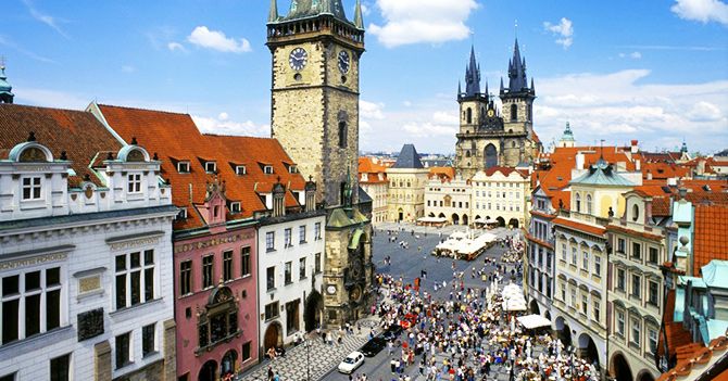 prague writers retreats