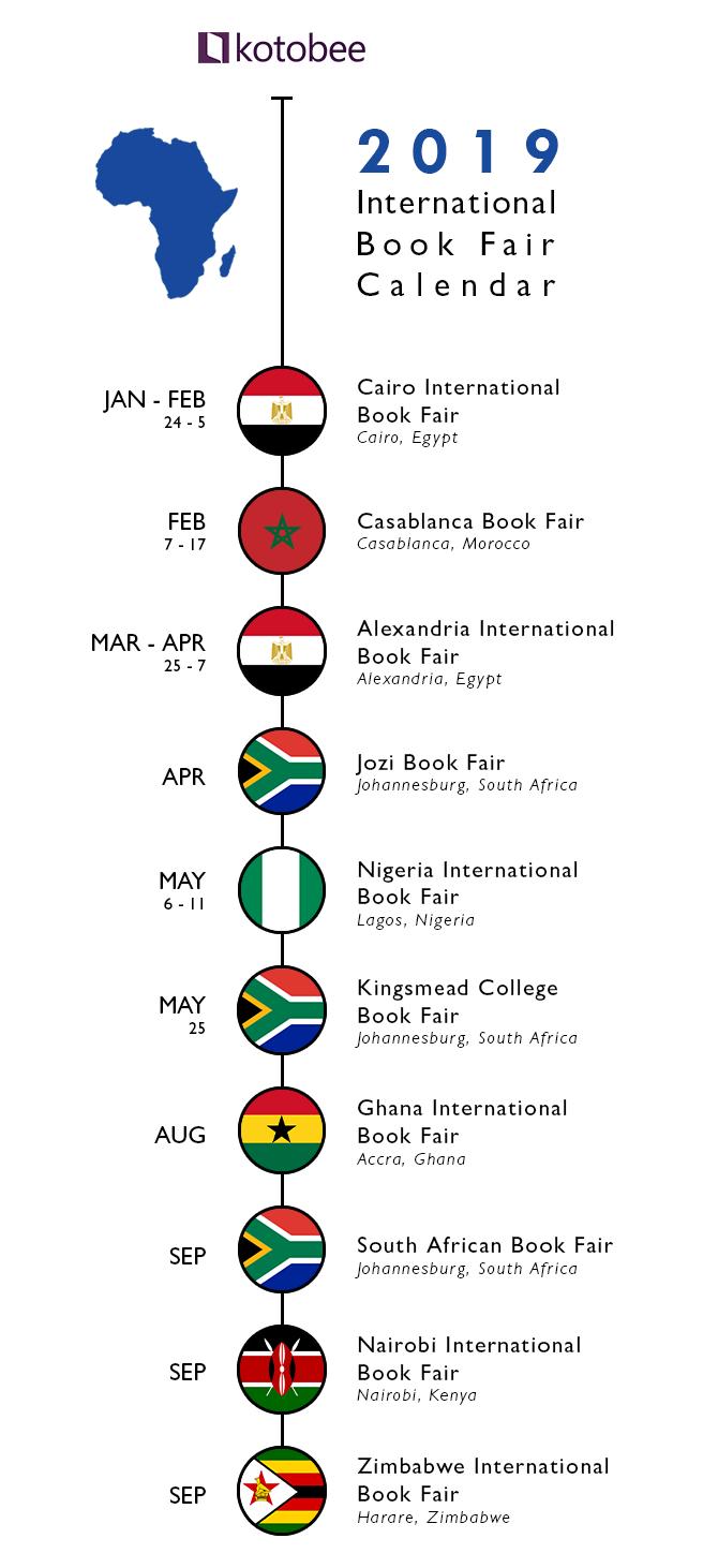 2019 Africa Book fair Calendar