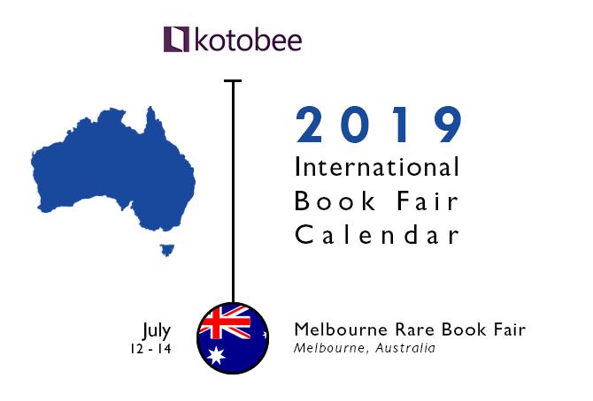 2019 Australia Book fair Calendar
