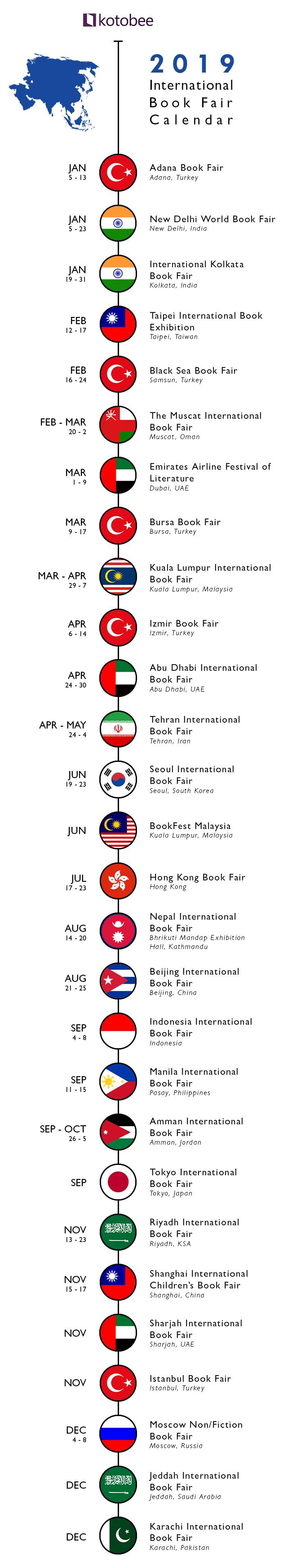 book fairs---ASIA