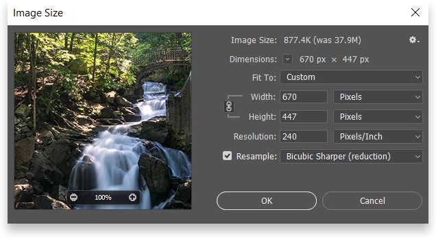 optimize images photoshop