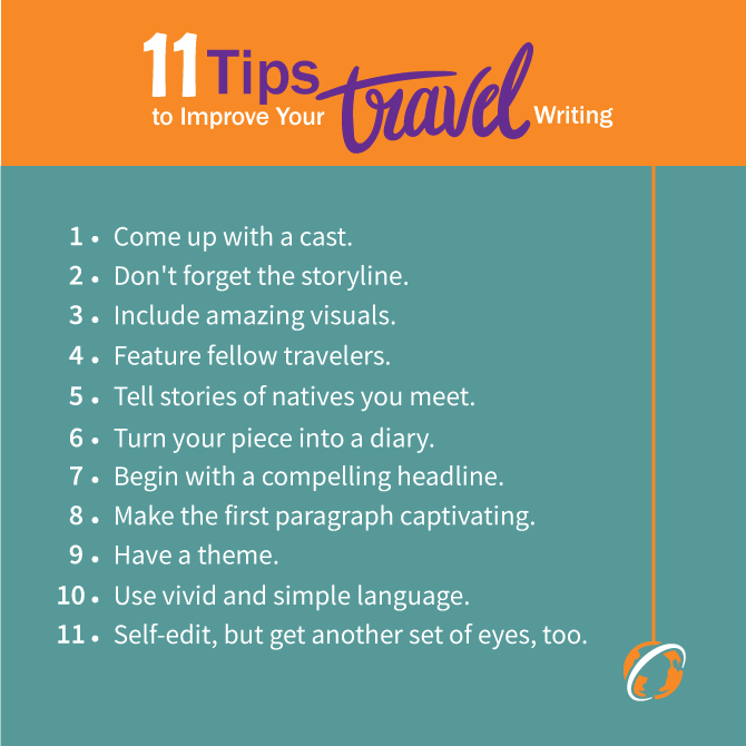Travel Writing: 11 Tips To Improve Your Travel Writing