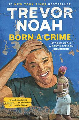 trevor noah book cover