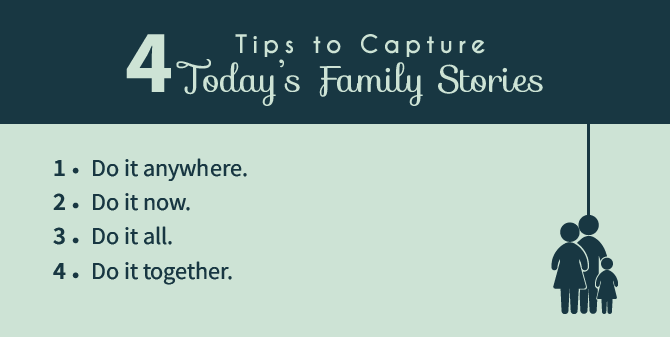 today's family stories