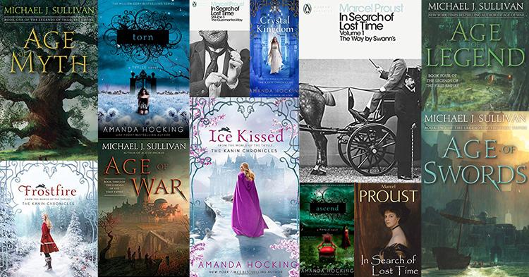 succesful self-published books