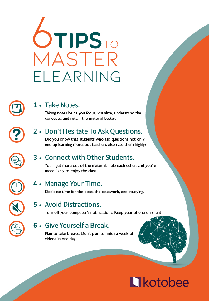 6 tips to master elearning